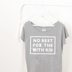 No Rest For The With Kid Women's Loose Fit T Shirt