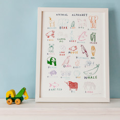 ABC of Animals Print