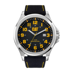 CAT Operator series Watch in Stainless Steel with Black face