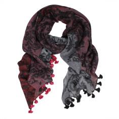 Belle Lace Print Woolmark scarf (2 colours)