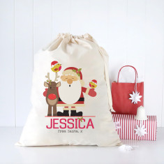 Personalised Christmas Santa sacks (various designs)