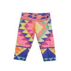 Women's Aztec 3/4 leggings