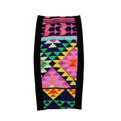 Pencil skirt in Aztec