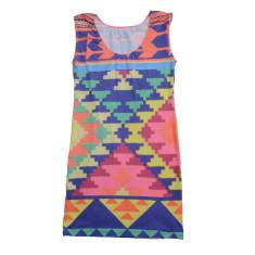 Aztec con dress
