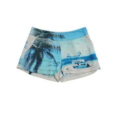 Silk short in beach stand