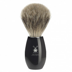 Muhle shaving brush modern K856 in polished black