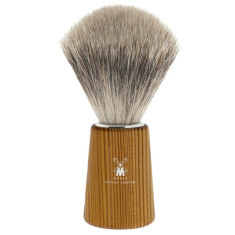 Pine wood shaving brush with best badger hair