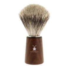 Acacia wood shaving brush with best badger hair