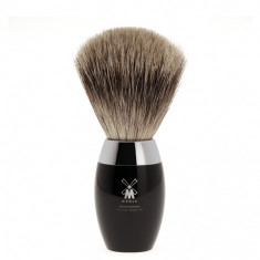 Muhle shaving brush K876 in polished black