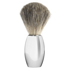 Chrome plated Muhle shaving brush M860