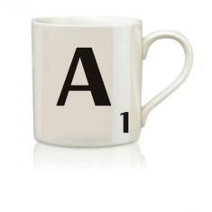 Scrabble A-Z mugs