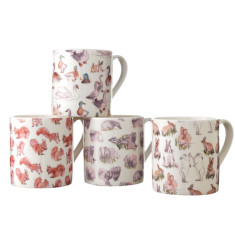 Wild in the country mug set