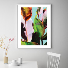 Cannas leaves #3 art print (various sizes)