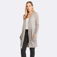 Holly Cardi in Silver Marle