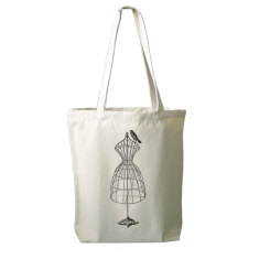 Dressform tote bag