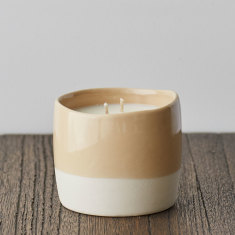 Leatherbound Classic Candle