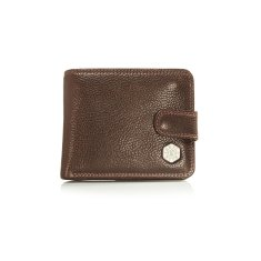 Men's Bi-fold with Coin Pouch and Tab