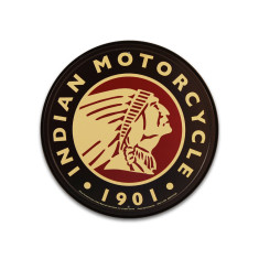 Indian Motorcycle 1901 Sign