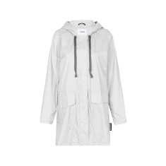 Women's any day raincoat in grey marle