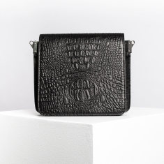 The Alexa Croc Bag