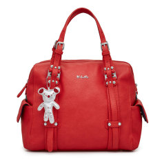 Nico Baby Bag in Red