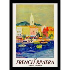 French Riviera Print