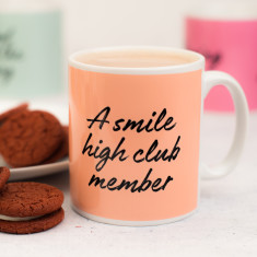 Smile High Club Member Mug