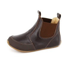 Riding boots in chocolate