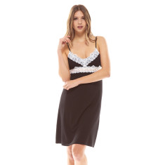 Essential Night Dress Black