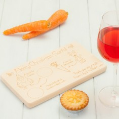 Personalised Birchwood Santa Tray