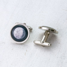Personalised Moon Phase Cufflinks