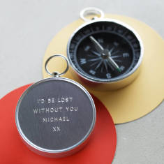 Personalised Engraved Novelty Compass