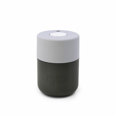Frank Green Smart Cup 8oz - Titanium / Harbour Mist / Coconut Milk Coffee Cup