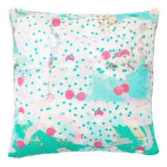 Aqua amigo cushion cover