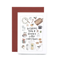 Christmas Feast greeting card