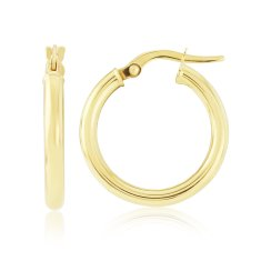 Chelsea 9ct gold Hoop Earrings