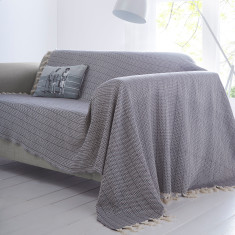 Siena Charcoal Throw