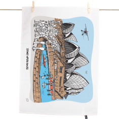Sydney Opera House Tea Towel