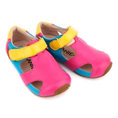 Kids' Sunday sandals in tutti frutti