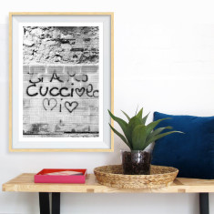 On the wall art print (various sizes)