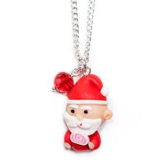 Santa Christmas chain necklace