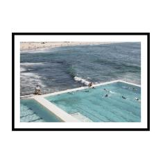 Pool Meets Ocean Photography Print