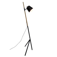 Tilted Tripod Floor Lamp