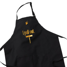 Wine Lover Apron - I Pull Out