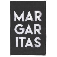 Margaritas watercolour tea towel