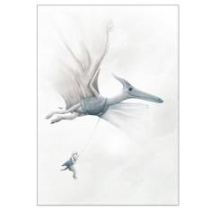 Pterodactyl Dinosaur Print