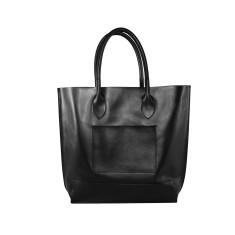 Freeda Leather Handbag In Black