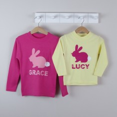 Personalised Easter Bunny T shirt
