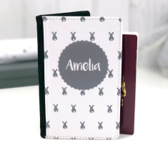 Bunny Personalised Passport Cover