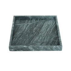 Green Square Marble Tray